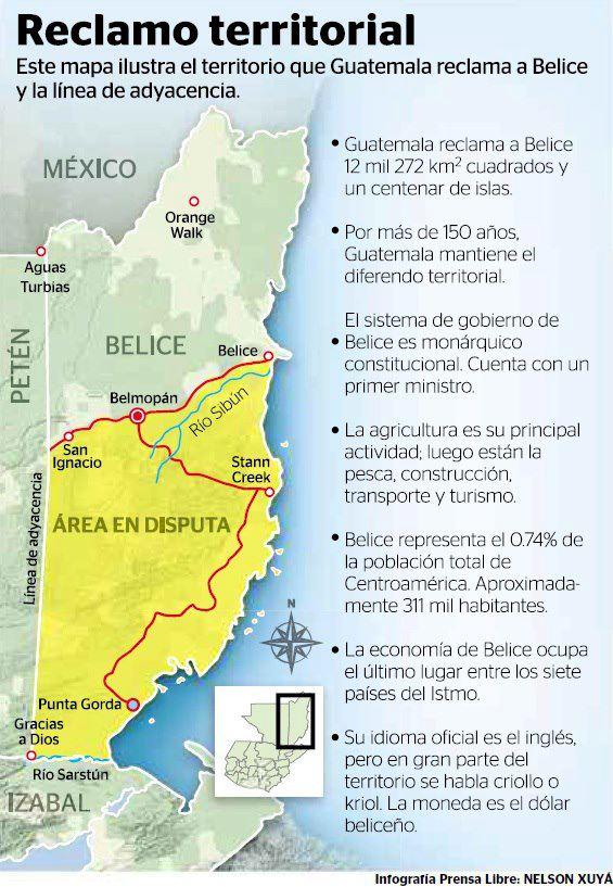Guatemala claim to Belize