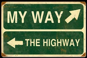 my way or highway