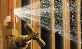 bursting pipes